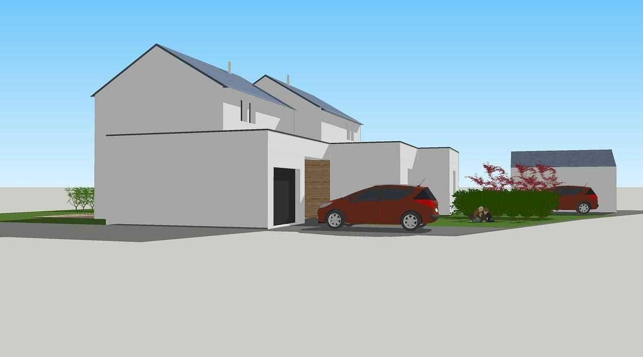Construction de deux logements individuels sur une même parcelle v1-vue02