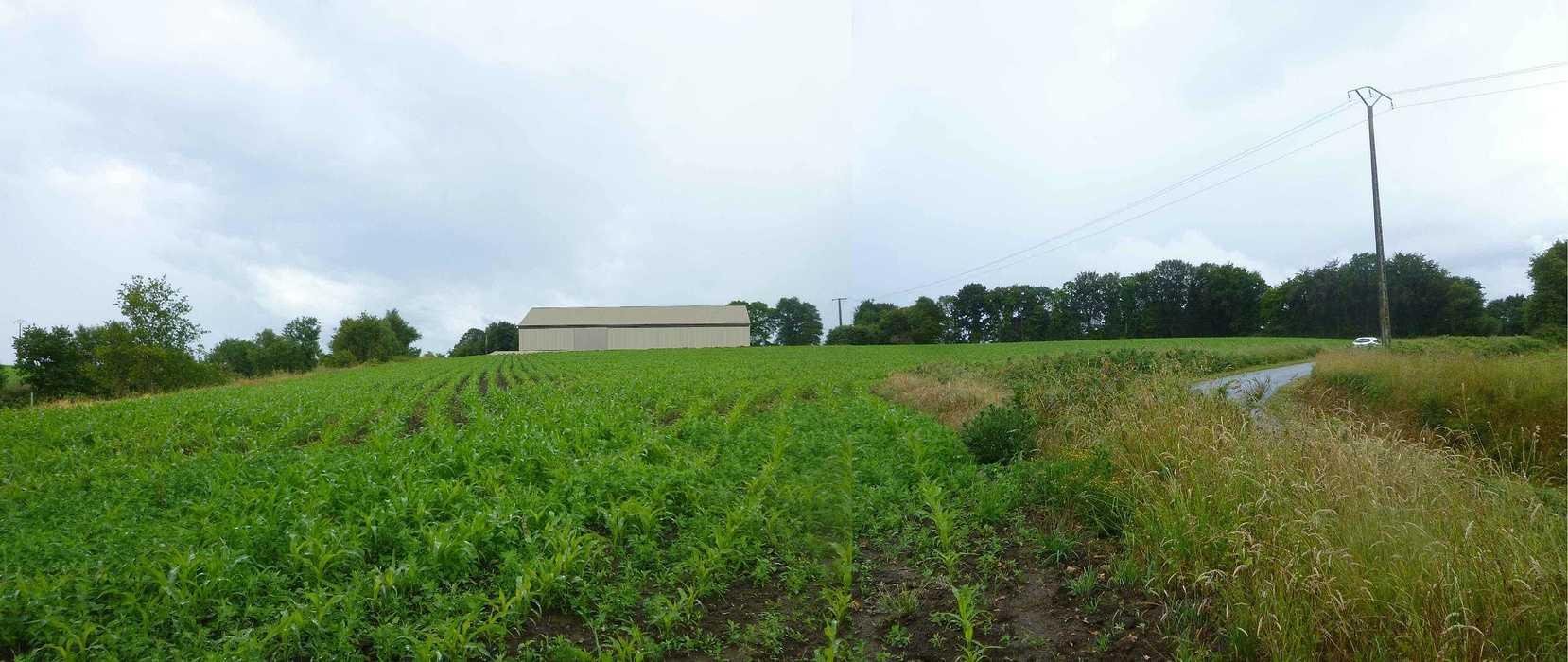 Projet construction d''un hangar agricole - Secteur Langonnet 3