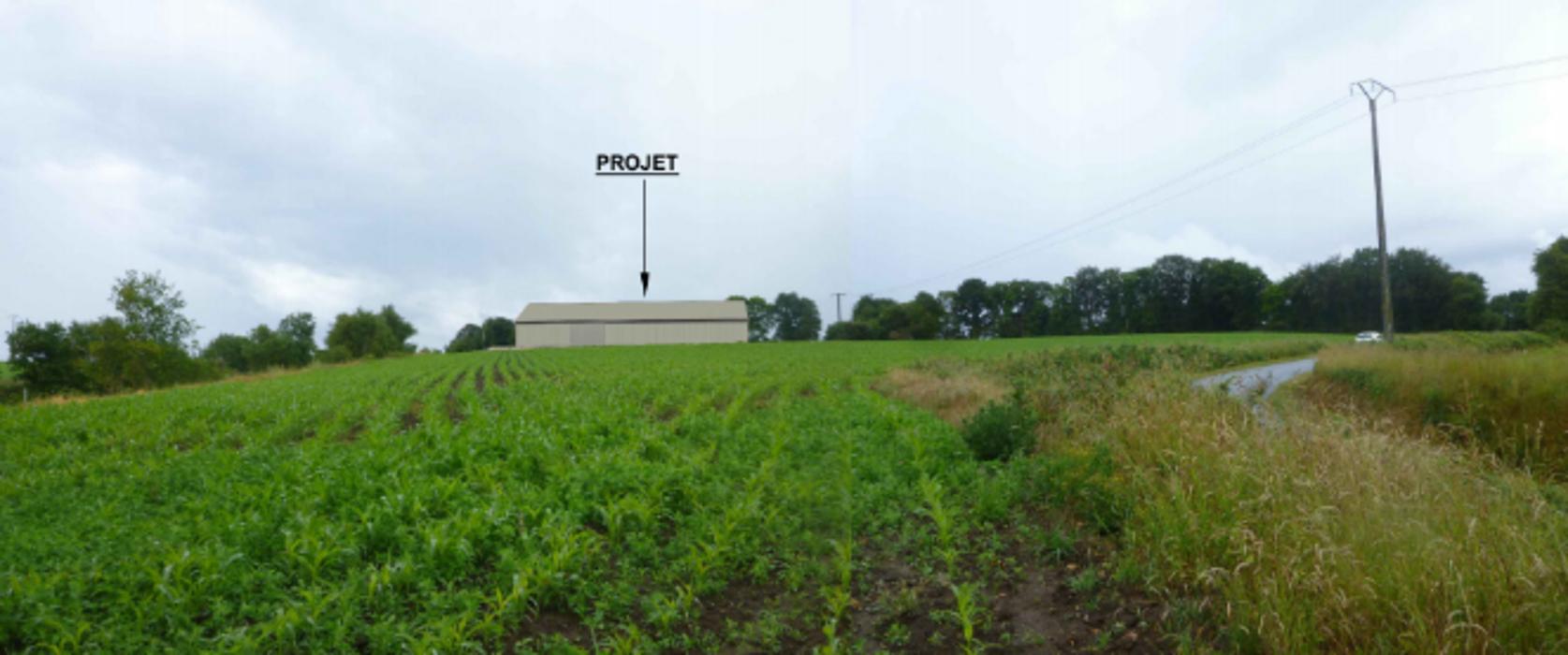 Projet construction d''un hangar agricole - Secteur Langonnet 0