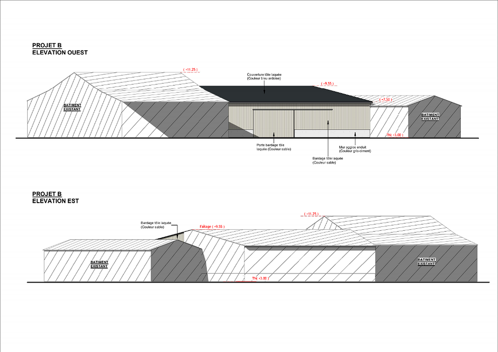 Construction hangar stockage fourrage - Secteur Priziac screenshot2020-12-11agricole-googledrive10