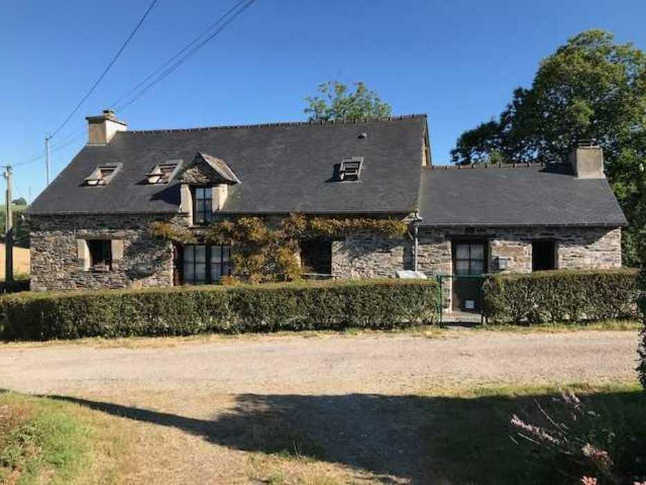Extension habitation - commune de Guerlédan img0125