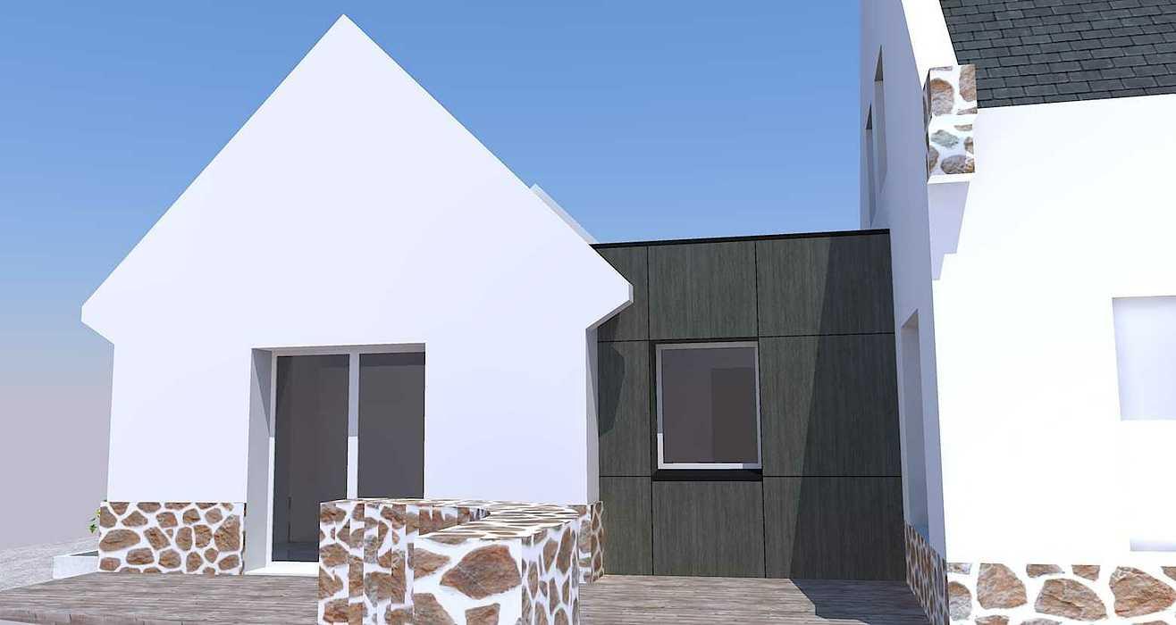 Extension d''une maison - Erquy rollier-vue3d2-18.06.18