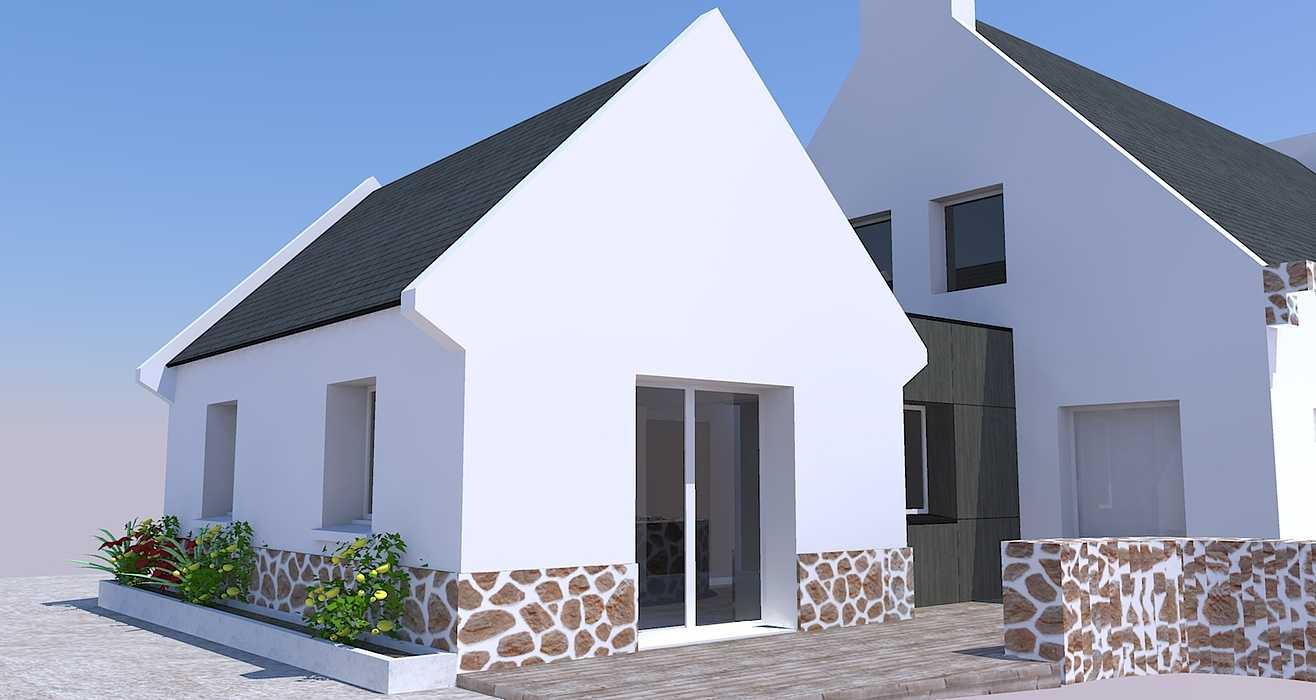 Extension d''une maison - Erquy 0