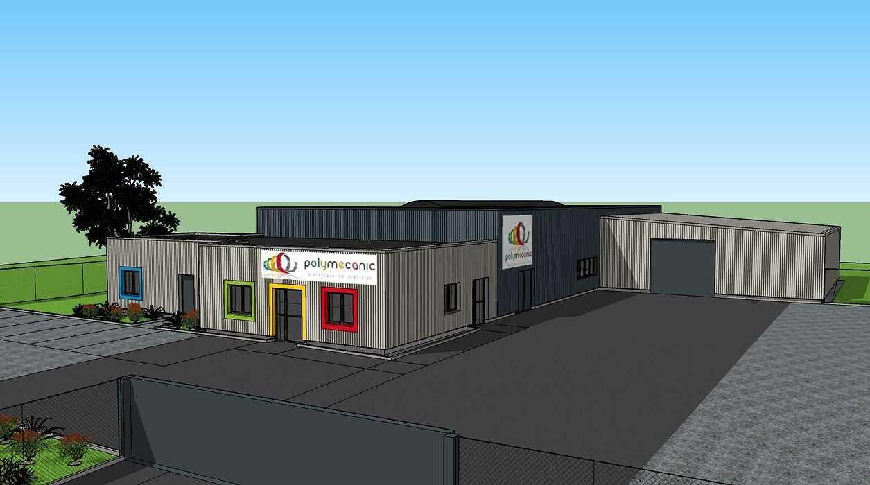 Construction d''un bâtiment à Loudéac (22) vue1419.02.19